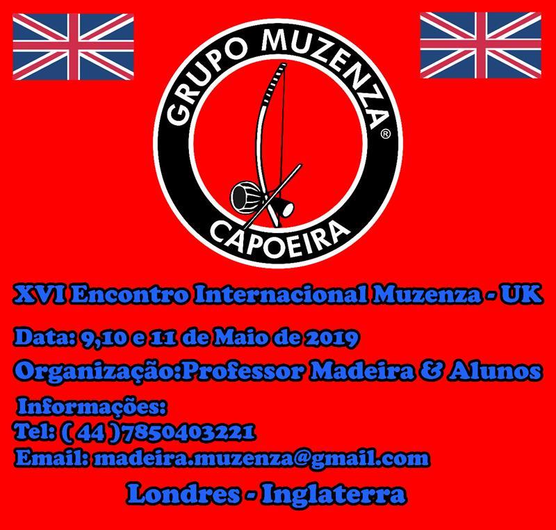 XVI Encontro Internacional Muzenza UK