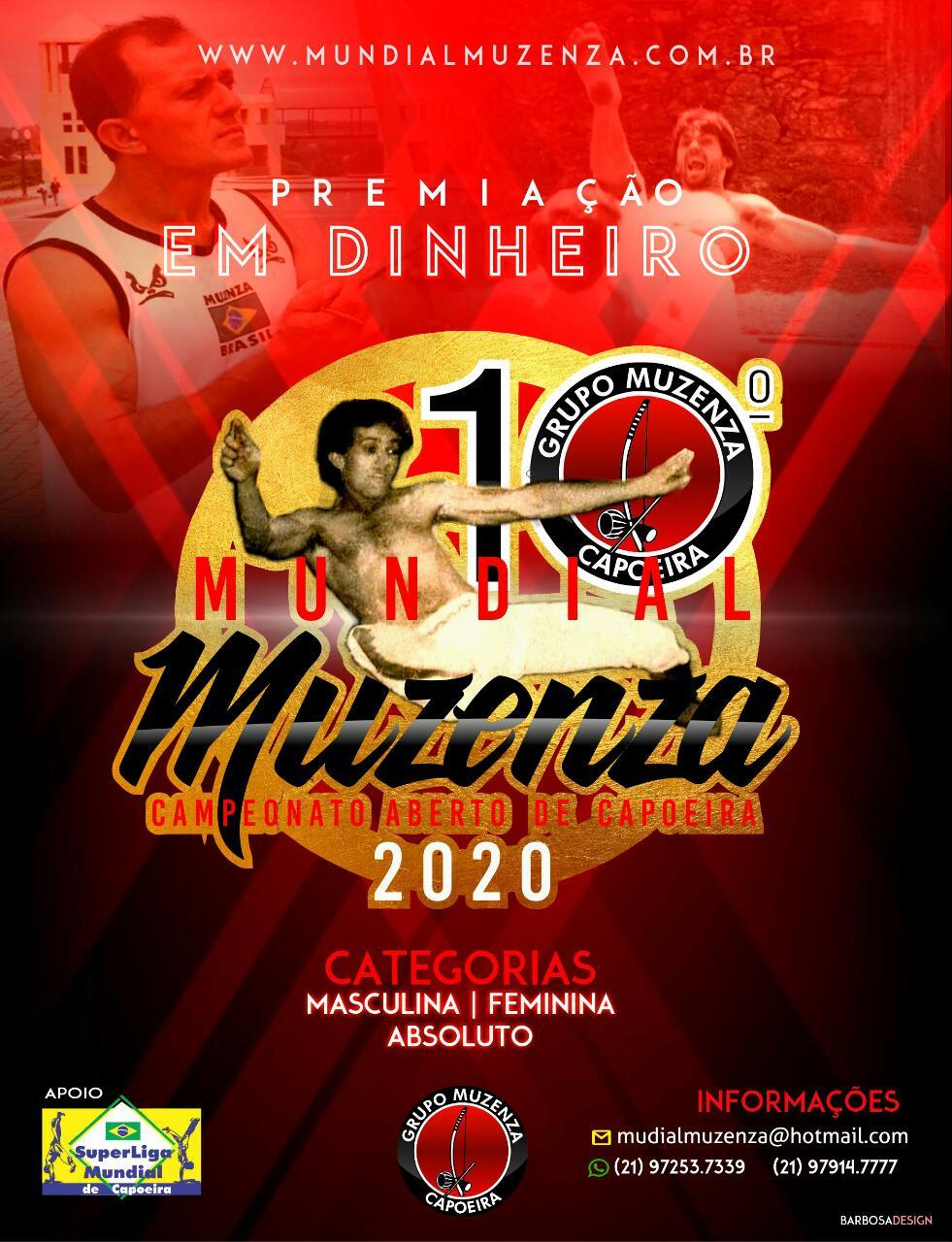 10º Mundial Muzenza 2020