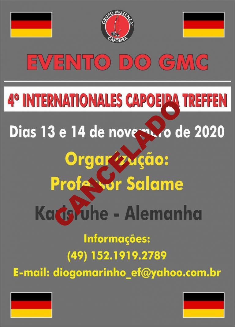 4º Internationales Capoeira Treffen