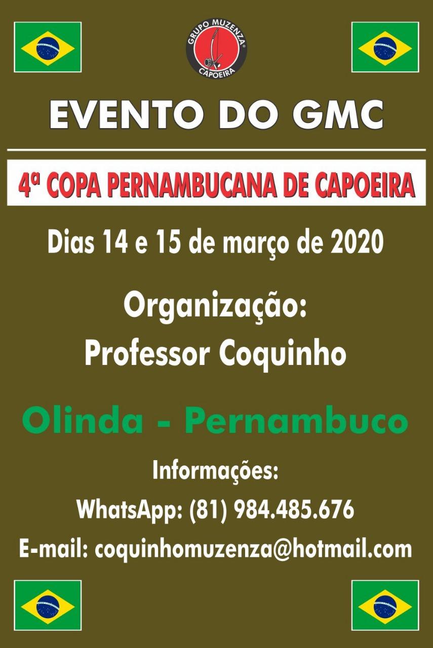 4ª Copa Pernambucana de Capoeira