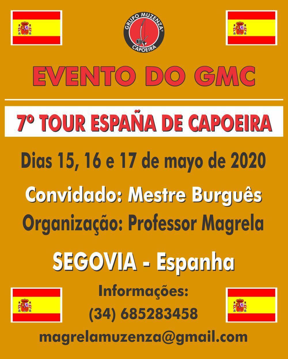 7º Tour da España de Capoeira