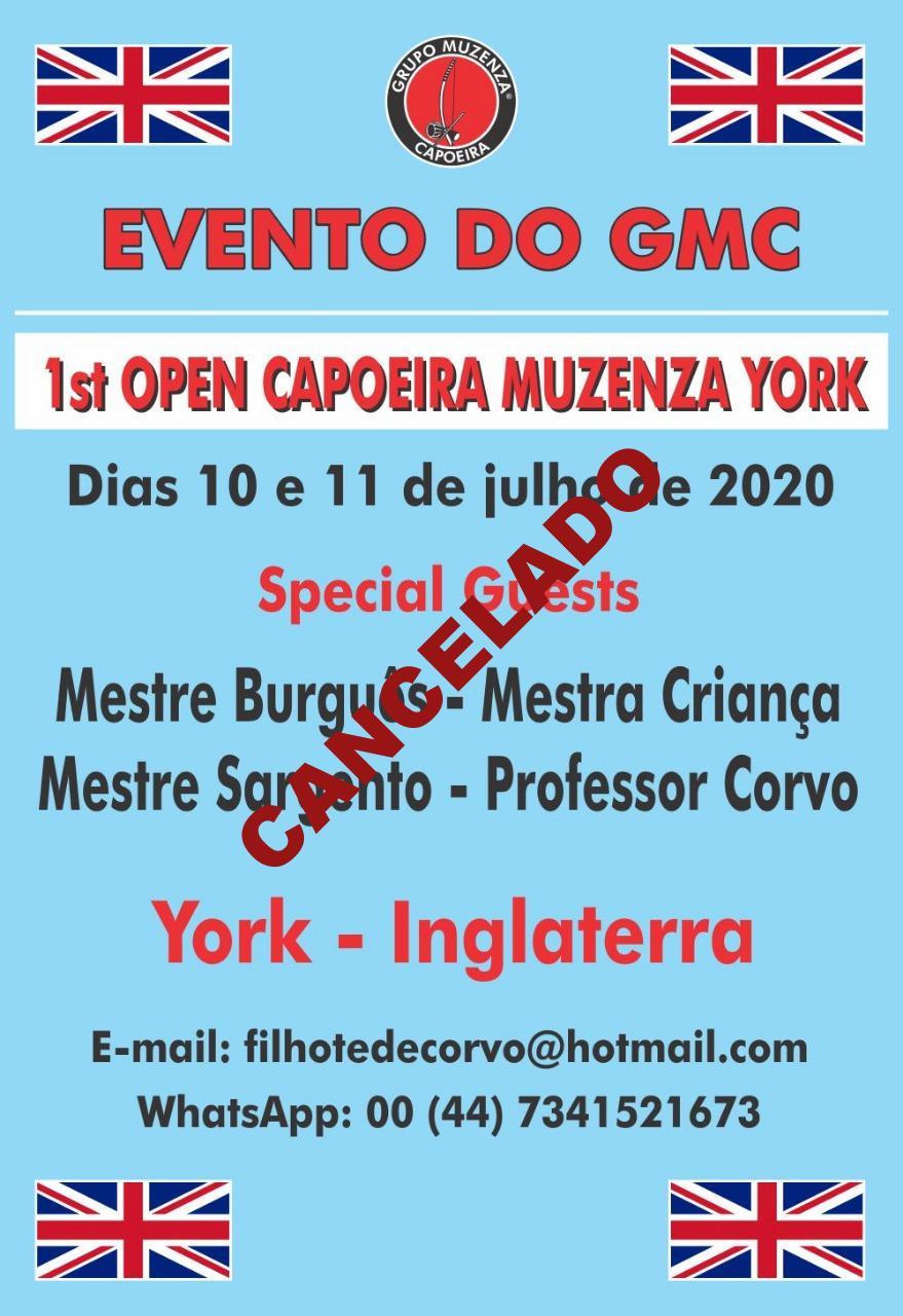 1st Open Muzenza Capoeira York