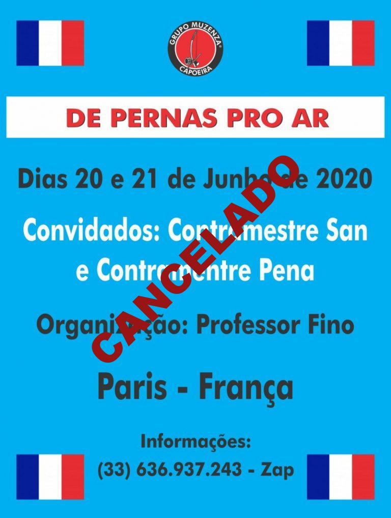 De Pernas Pro Ar 2020