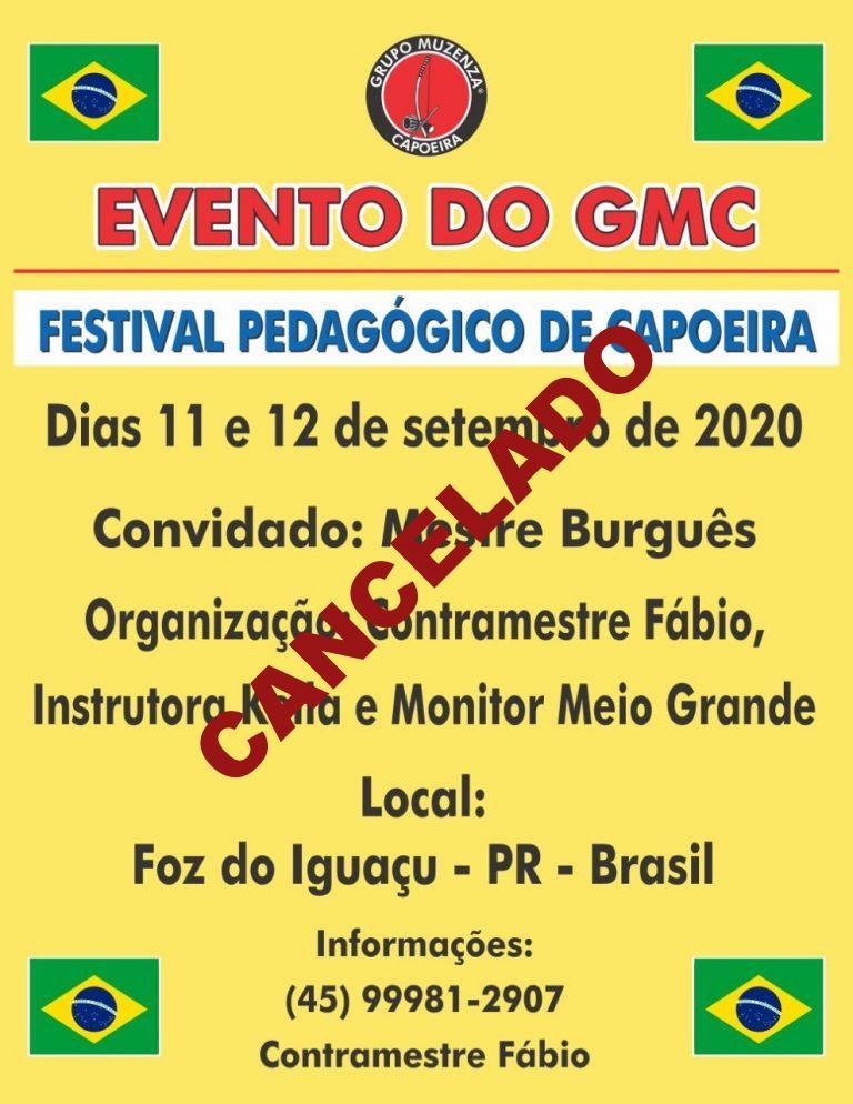 Festival Pedagógico de Capoeira