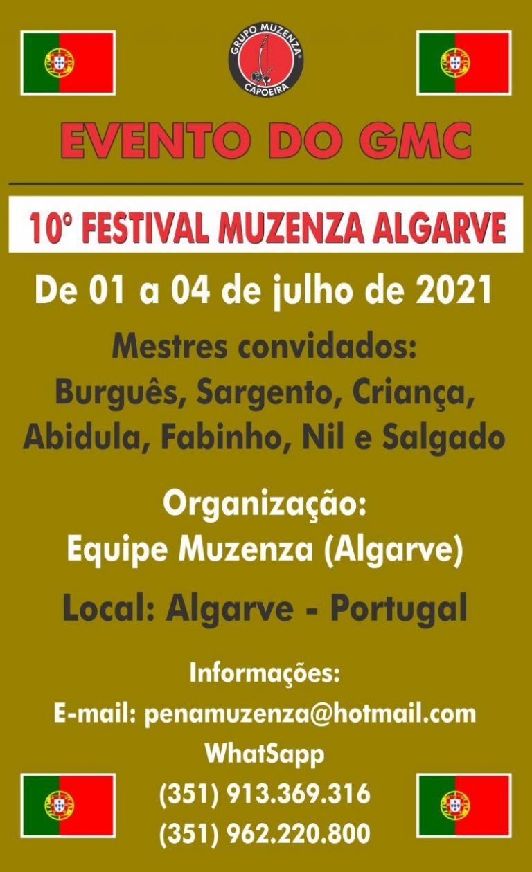 10º Festival Muzenza Algarve