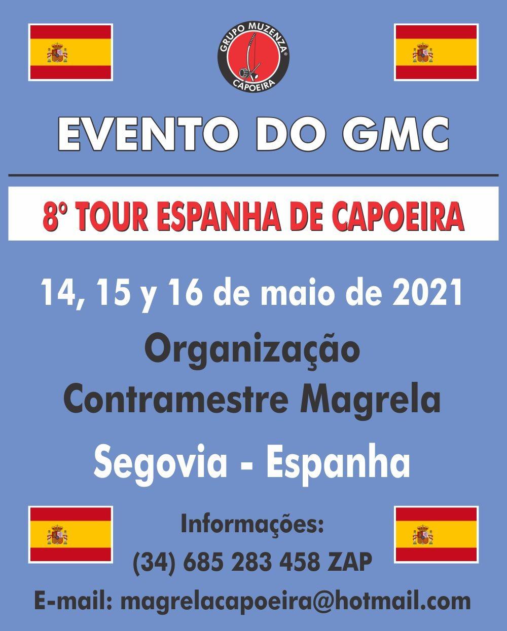 8º Tour Espanha de Capoeira