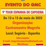 9º Tour Espanha de Capoeira 2022