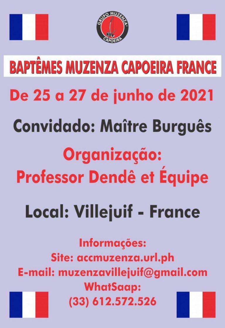 Baptêmes Muzenza Capoeira France