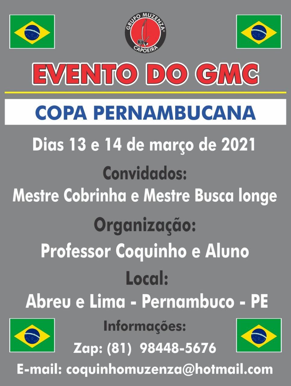 Copa Pernambucana Capoeira