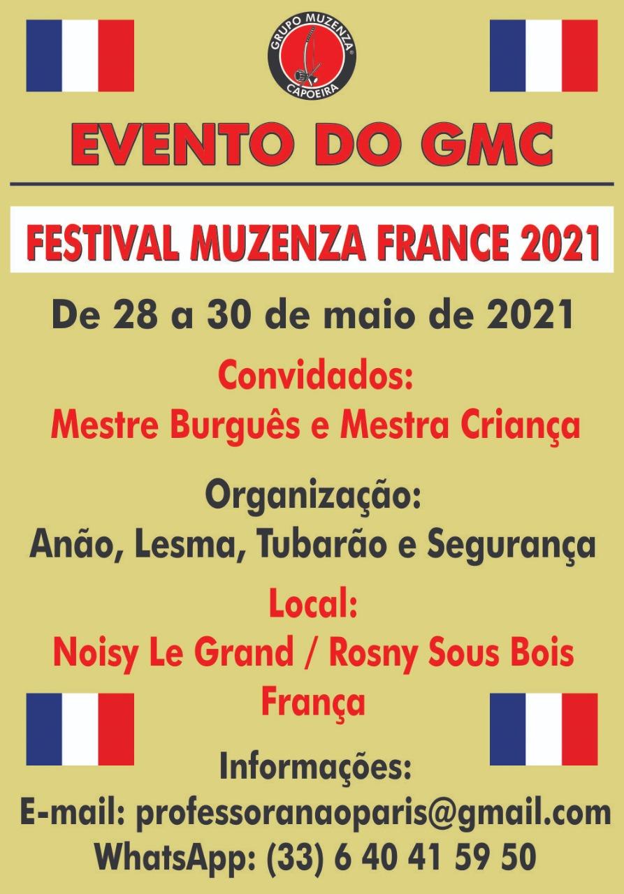 Festival Muzenza France 2021