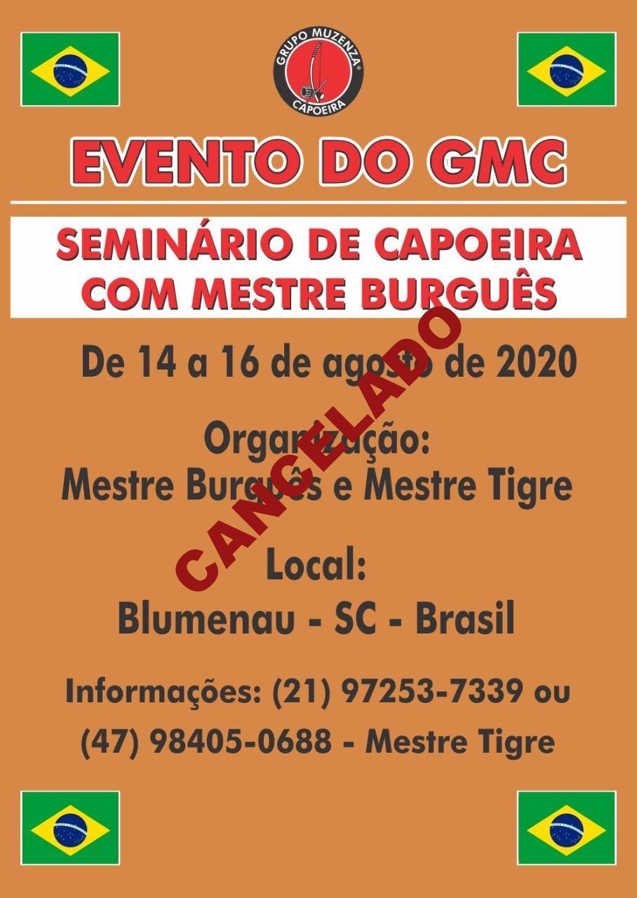 Seminário de Capoeira com Mestre Burgues