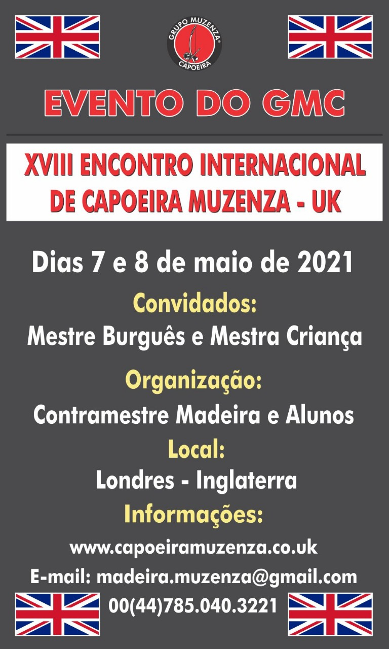 XVIII Encontro Internacional de Capoeira Muzenza UK