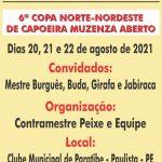 6ª Copa Muzenza Norte Nordeste de Capoeira